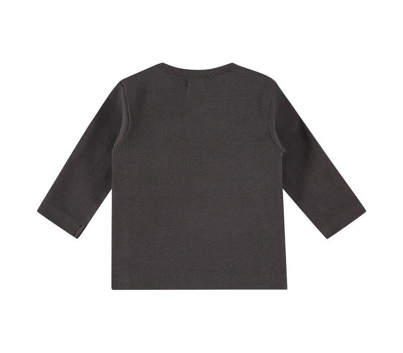 Babyface baby t-shirt long sleeve ebony 18