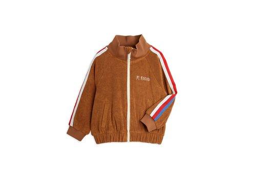 Mini Rodini Mini Rodini Terry jacket Brown