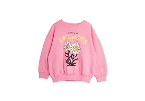 Mini Rodini Mini Rodini Edelweiss sp sweatshirt Pink