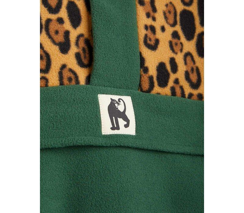 Mini Rodini Fleece zip pullover Green