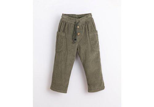 PlayUp PlayUp Corduroy Trousers AVOCADO