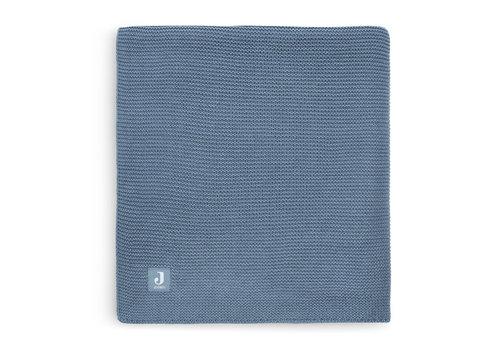 Jollein Jollein Deken 75x100cm Basic knit jeans blue