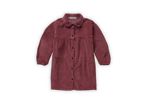 Sproet & Sprout Sproet & Sprout Dress Corduroy Fig