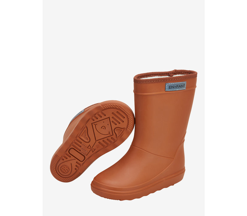 Enfant Leather Brown Thermo Boots