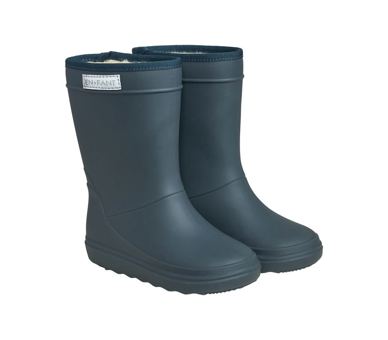 Enfant Dark Slate Thermo Boots Solid
