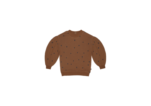 House of Jamie House of Jamie Balloon Sweater Ginger Bread Dots