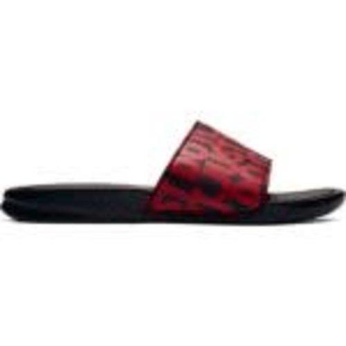 Nike Benassi Jdi Print Noir Rouge