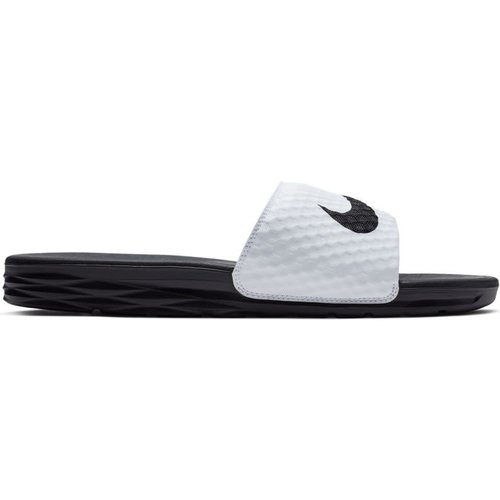 Nike Benassi Solarsoft Blanc-noir