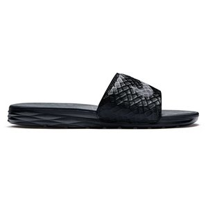 Nike Benassi Solarsoft Noir-anthracite