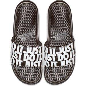 Nike Benassi Jdi Print Noir-blanc