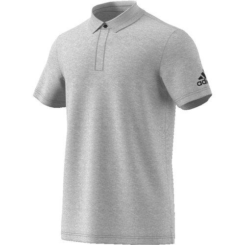 Adidas Mh Plain Polo Gris