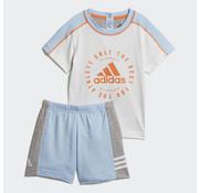 Adidas I print Sum Ensemble Blanc/bleu19