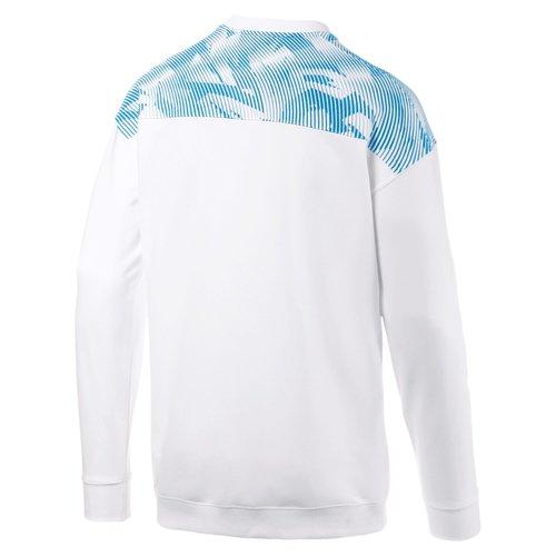 Puma OM Casuals Sweater Blanc/Bleu