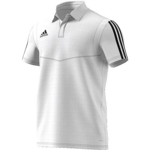Adidas Tiro19 Cotton Polo White