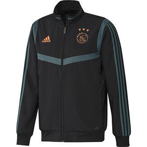 Adidas Ajax Pre Jkt Noir-vert