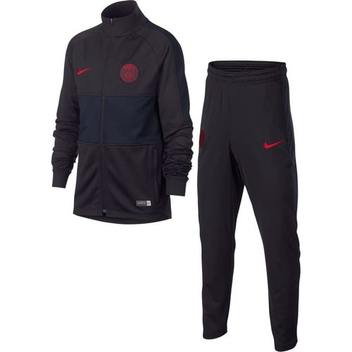 Nike PSG Dry Strk Trk Suit JR Oil grey-red