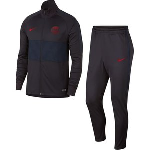 Nike PSG Dry Strk Trk Suit Oil grey-red