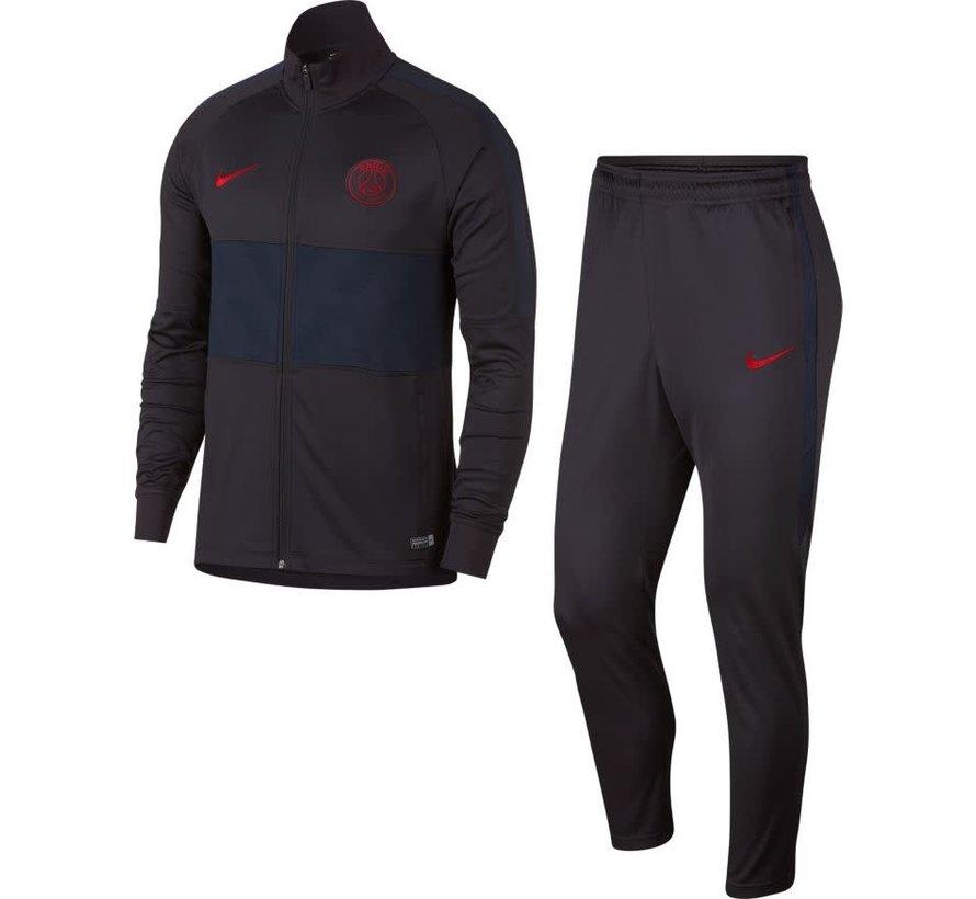 PSG Dry Strk Trk Suit Oil grey-red
