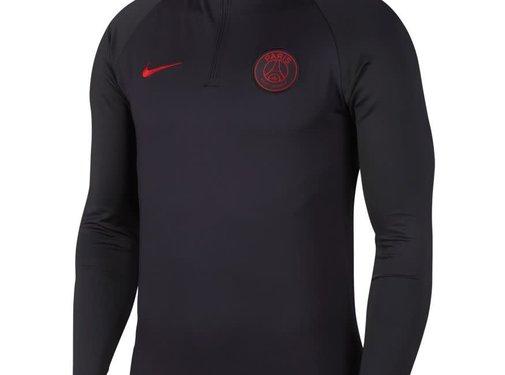 Nike PSG Drill Top Strike Oil grey-red