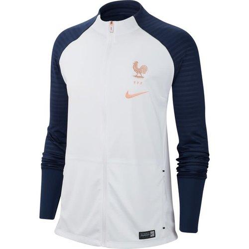 Nike France Squad Anthem Jkt W White-navy-p488c