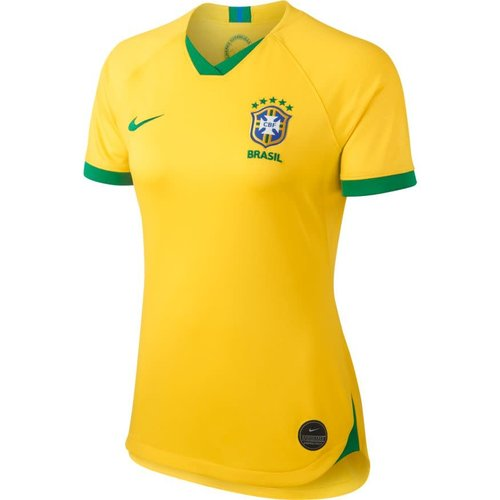 Nike Brasil Stadium Home 19 W Midgold-lucky green