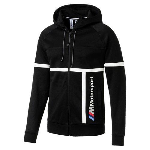 Puma BMW Hooded Sweat Jacket Black