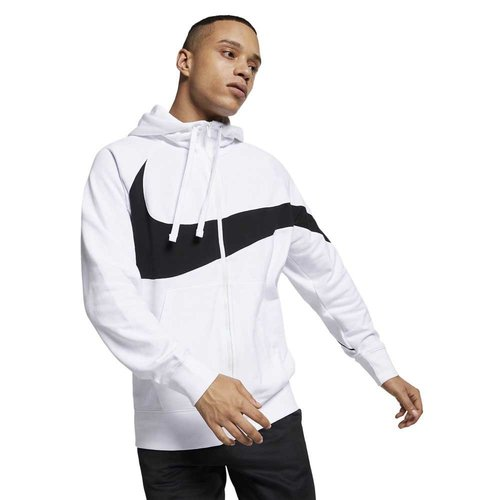 Nike Swoosh Hoodie White