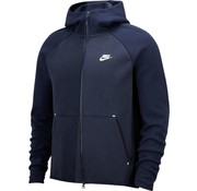 Nike Tech Fleece Hoodie Navy/White