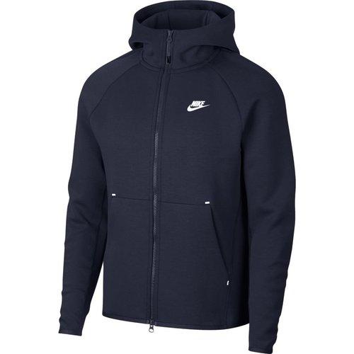 Nike Tech Fleece Hoodie Navy