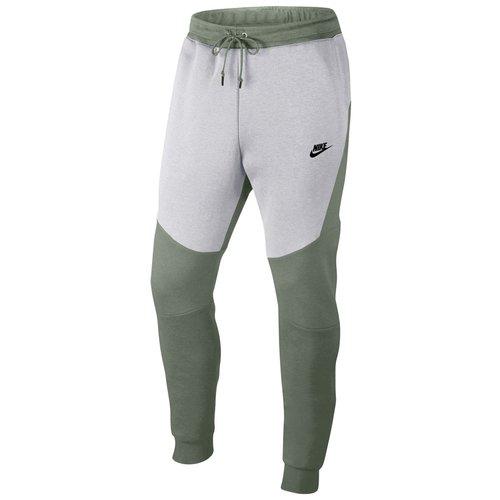 Nike Tech Fleece Jogger Kaki/blanc