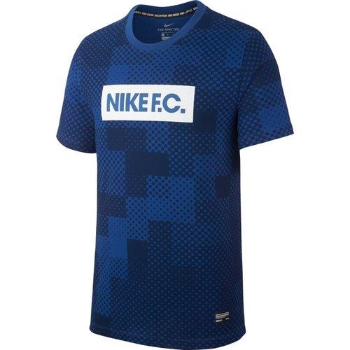 Nike Nike FC Dry Tee Bleu-blanc