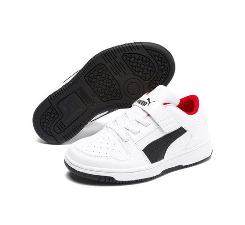 Puma Rebound Layup White/P Kids