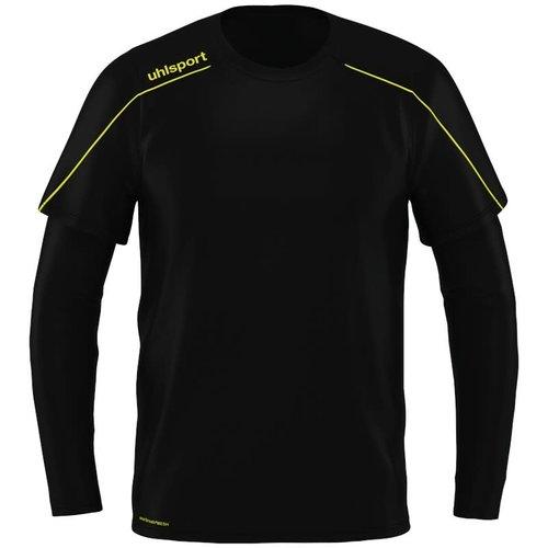 Uhlsport Stream22 Keeper JR Noir/jaunefluo