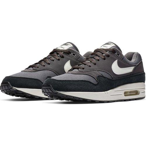 Nike Air Max 1 Gris-noir-blanc