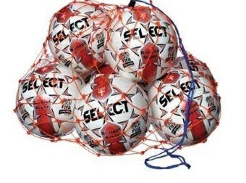 Select Ball-net orange 6/8 ballons