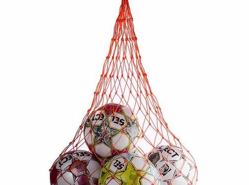 Select Ball-net orange 10/12 ballons
