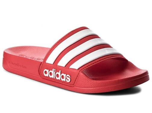 Adidas Adilette Shower Rouge-blanc