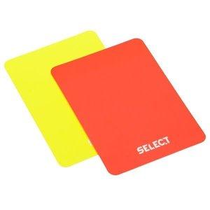 Select Cartes arbitres 1 jaune/1 rouge