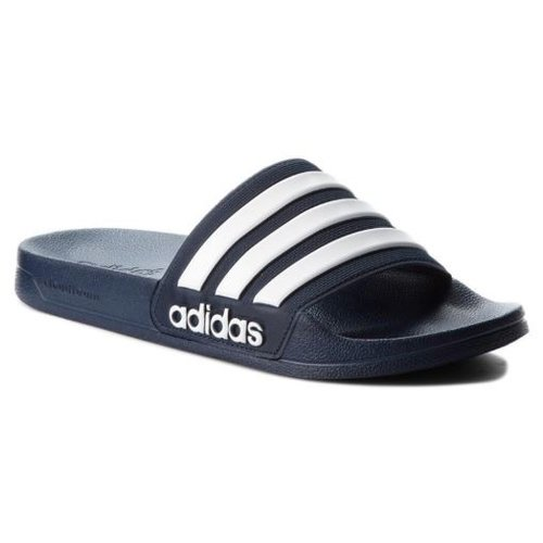 Adidas Adilette Marine-blanc