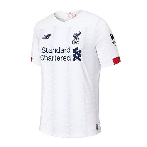 New Balance Liverpool Fc Away Blanc
