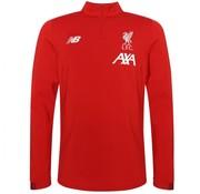 New Balance Liverpool Fc 19/20 LS Midlayer rouge