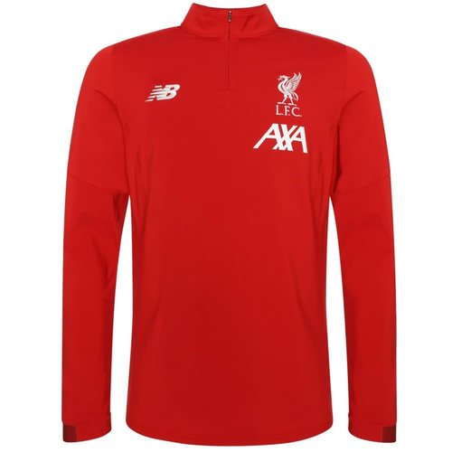 New Balance Liverpool Fc 19/20 LS Midlayer rouge