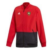 Adidas Maroc Jr Pre Jacket Red 19/20