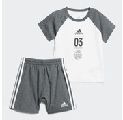 Adidas Logo Sum Set Grey/White