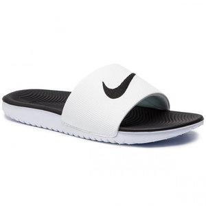 Nike Kawa (GS) Slide Blanc-noir
