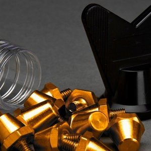 AMO AMO Pro Studs Gold 13 x15mm