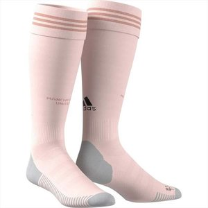 Adidas Manchester United Away Socks Pink