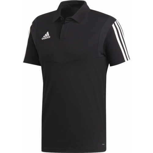 Adidas Tiro19 Cotton Polo Black
