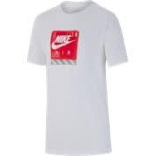 Nike Nike T-shirt Blanc-rouge