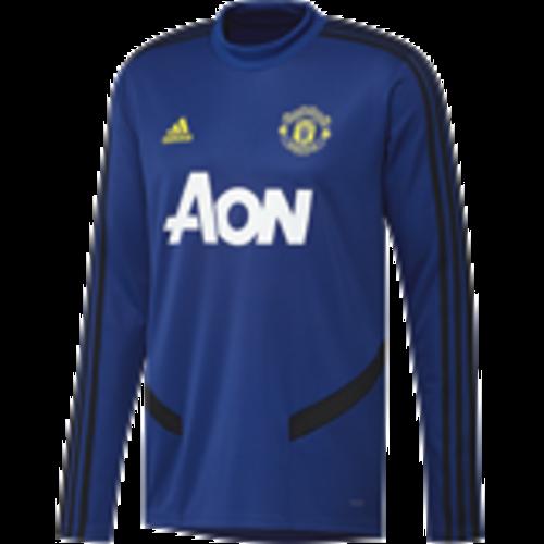 Adidas MUFC Tr Top Bleu 19-20.
